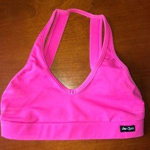 Hot pink dance top